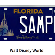 Walt Disney World 50th anniversary license plates now available in Florida