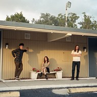 Gainesville shoegaze trio UV-TV are ready to paint the country black with a new album and tour