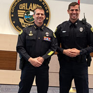 Former Orlando City goalie Talmon 'Tally' Hall is now a cop