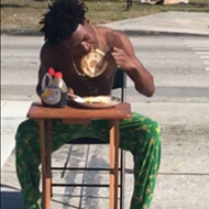 Florida man ticketed after eating pancakes in middle of intersection