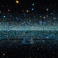 Mirror rooms of constant conspiracy: Yayoi Kusama's infinity rooms and our propagandist president