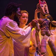 Phantasmagoria's John DiDonna takes on the origin myths of several cultures in new Valencia show 'Creation'