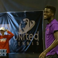 Florida tennis match interrupted with loud sex noises