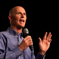 Of course Gov. Rick Scott is a speaker at the NRA annual convention