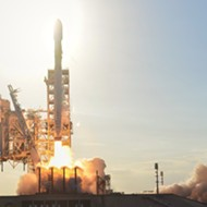 SpaceX launches first classified mission for the U.S. military