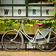 Bike to work with Mayor Buddy Dyer early-ass Friday morning