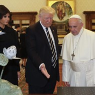 Trump gave Pope Francis a sculpture made by a Florida artist