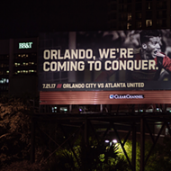 Atlanta United is so desperate for a rivalry they put up this dumb billboard in Orlando
