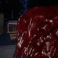 'The Blob' oozes onto a movie screen in Winter Park's Central Park this week