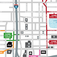 Traffic will be a major clusterf*ck this Saturday in downtown Orlando