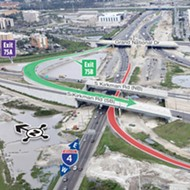The new Kirkman Road exit on I-4 opens today