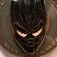 Take a good close look at Disney's new Black Panther pin