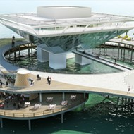 The reimagined St. Pete Pier is beginning to take shape