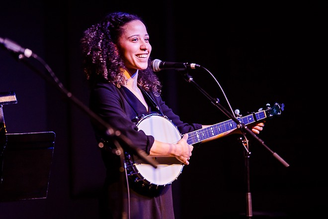 Kaia Kater at the Plaza Live - JAMES DECHERT