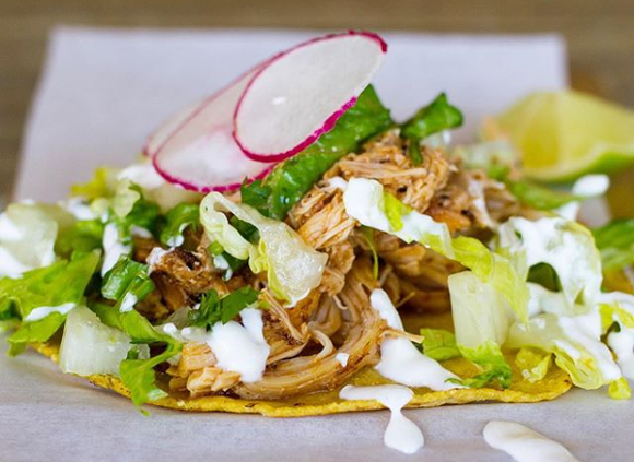 The New York Times picked Black Rooster Taqueria in Mills 50 as their top taco. - PHOTO COURTESY BLACK ROOSTER TAQUERIA ON INSTAGRAM