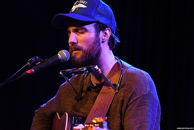 Ruston Kelly at the Social - JEN CRAY