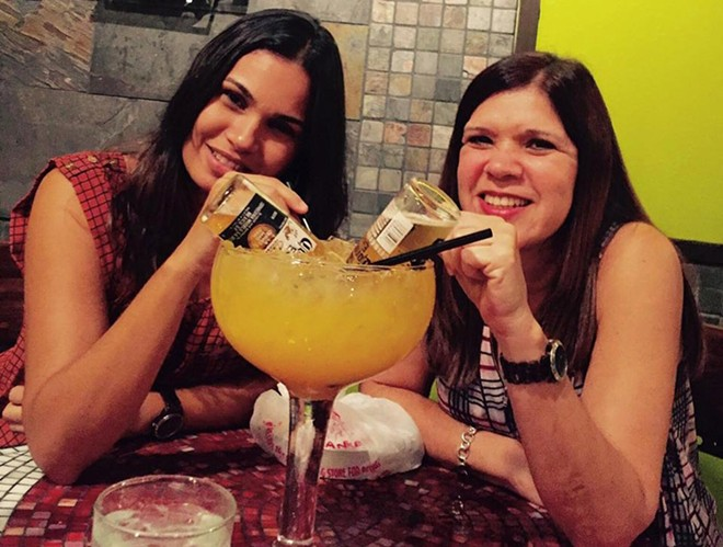 Lord have mercy, that's a big margarita. - PHOTO VIA PEPE'S CANTINA ON FACEBOOK