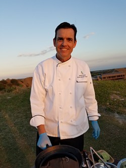 Executive chef Michael Ford