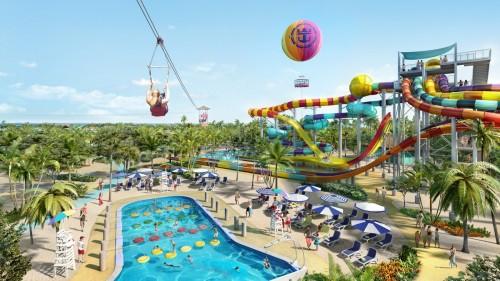 Thrill Waterpark at CocoCay, Royal Caribean's private island - IMAGE VIA ROYAL CARIBBEAN