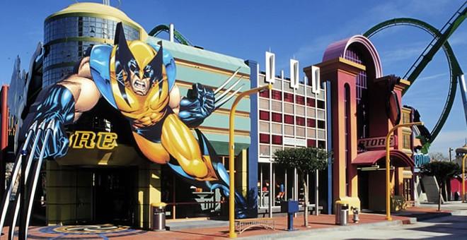IOA's  Marvel Super Hero Island - PHOTO VIA ENTERTAINMENTDESIGNER.COM