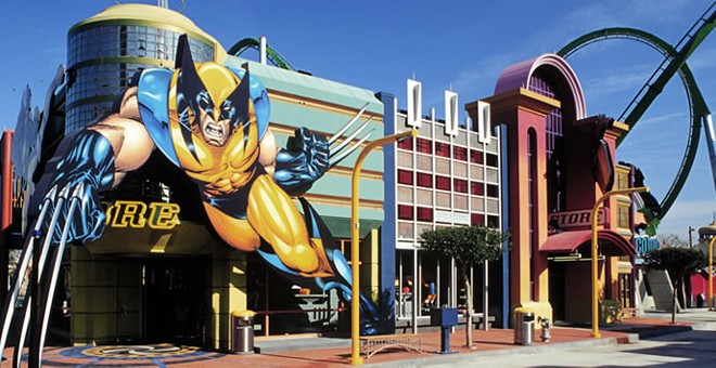 IOA's  Marvel Super Hero Island - PHOTO VIA ENTERTAINMENTDESIGNER.COM