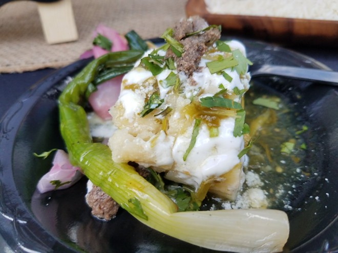Carne asada tamales (Tamale & Co.) - FAIYAZ KARA