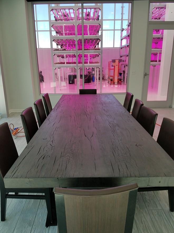 HyCube's™ dining event space - FAIYAZ KARA