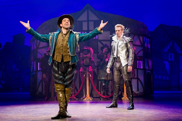 Rob McClure and Adam Pascal star in Something Rotten! at the Dr. Phillips Center. - JEREMY DANIEL