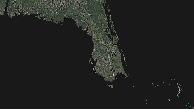 Click the image to watch timelapse video - IMAGE VIA EARTHTIME