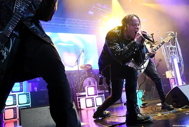 Ministry at Hard Rock Live - JEN CRAY