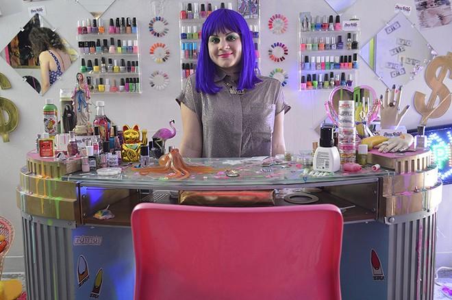 """Porn Nail$ Mobile Salon"" - ROSEMARIE ROMERO"