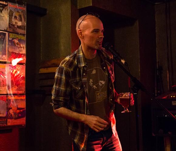 Former Speakeasy host Tod Caviness - MICHAEL GAVIN