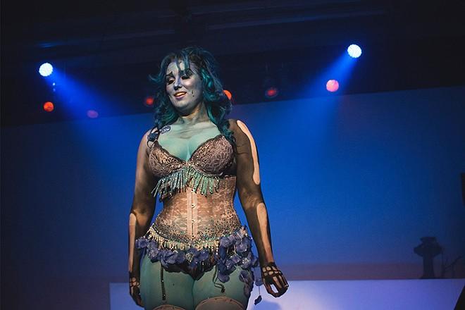 Performer Lita LaRoux, not in a Star Wars costume, but close enough - PHOTO VIA FACEBOOK