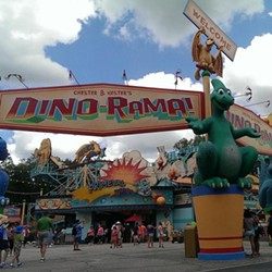 Dino-Rama at Disney's Animal Kingdom - IMAGE VIA MARKYDEEDROP | TWITTER