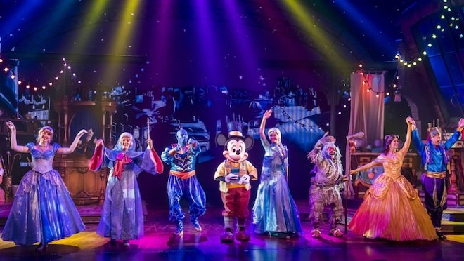 Wait, did Disney just announce a new stage show for Walt