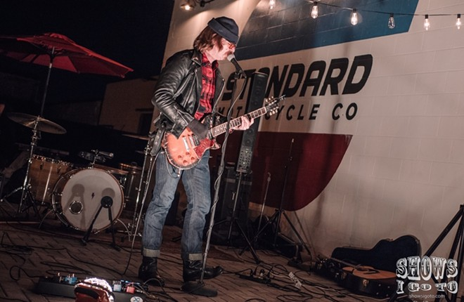 Eagles of Death Metal at Standard Motorcycle - PHOTO VIA SHOWS I GO TO