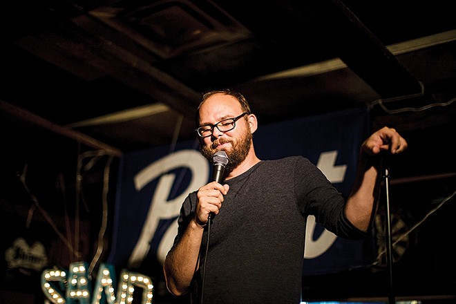 Shit Sandwich founder Matt Gersting - JON YEHLING