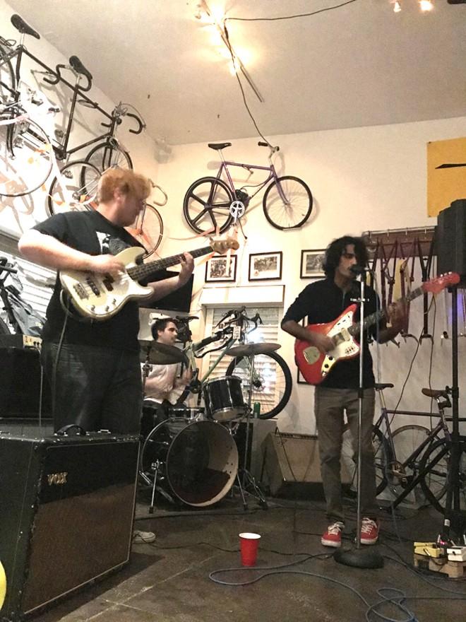 Bubble-ish Boys - RJ Nordstrom, Jon David and Dani Jalali at Ace Metric Cycles