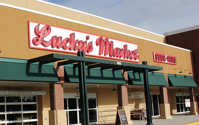 PHOTO VIA LUCKY'S MARKET/OFFICIAL WEBSITE