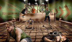 The Assualt Course at the Bear Grylls Adventure - IMAGE VIA BEAR GRYLLS ADVENTURE   FACEBOOK