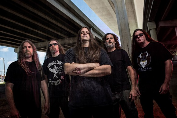PHOTO VIA ENDOXA BOOKING/CANNIBAL CORPSE