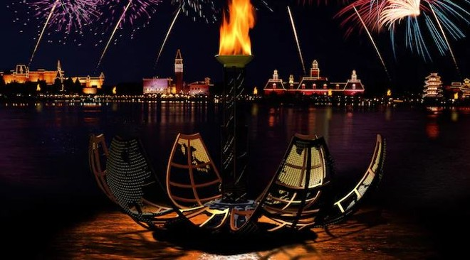 IllumiNations: Reflections of Earth - IMAGE VIA DISNEY