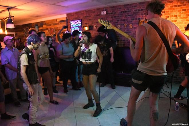 Too Bad at Grumpy's Underground Lounge - JEN CRAY
