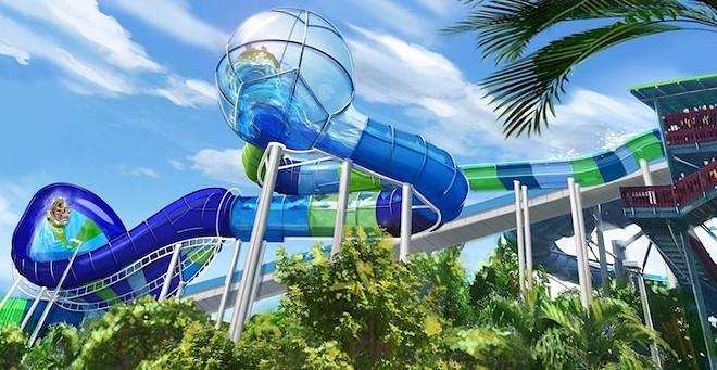 Ray Rush concept art - IMAGE VIA SEAWORLD