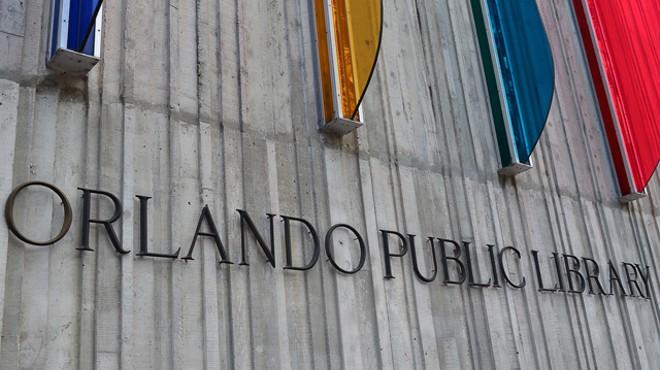 Orlando Public Library - JIM LEATHERMAN
