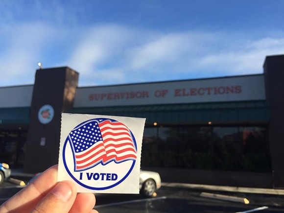 PHOTO VIA ORANGE COUNTY SUPERVISOR OF ELECTIONS OFFICE