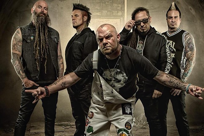 Five Finger Death Punch - PHOTO VIA FIVE FINGER DEATH PUNCH/FACEBOOK