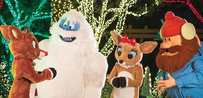 Rudolph Christmas Movie Characters.Rudolph The Red Nosed Reindeer Is Sticking Around At
