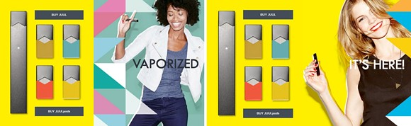JUUL ADS FROM 2015