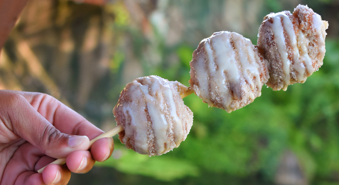 Apple Cider Doughnut Holes at Isle of Java in Animal Kingdom - PHOTO VIA WALT DISNEY WORLD